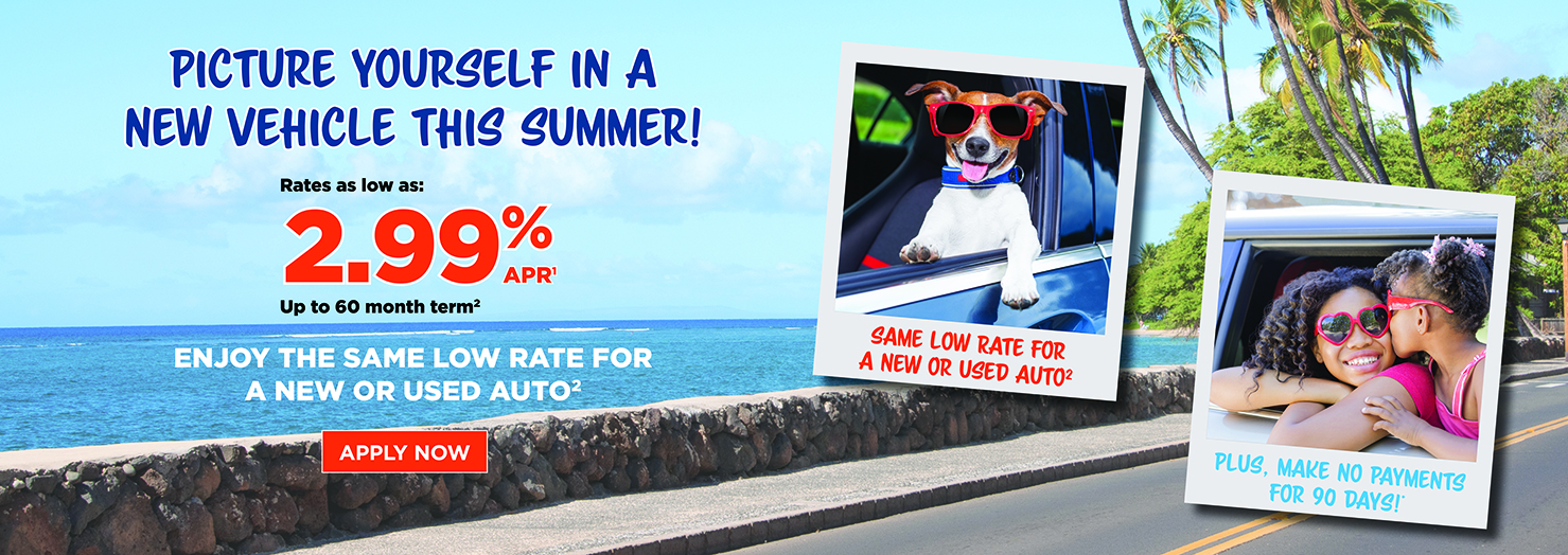 Picture Yourself in a New or Used Vehicle this Summer