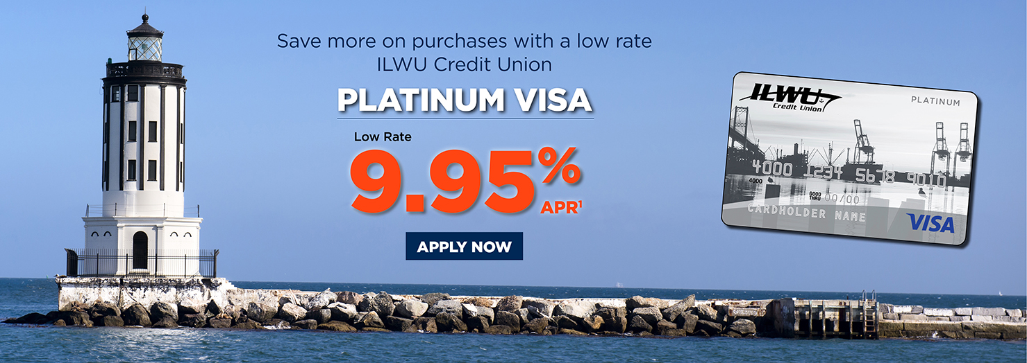Save more on purchases with a low-rate Platinum Visa