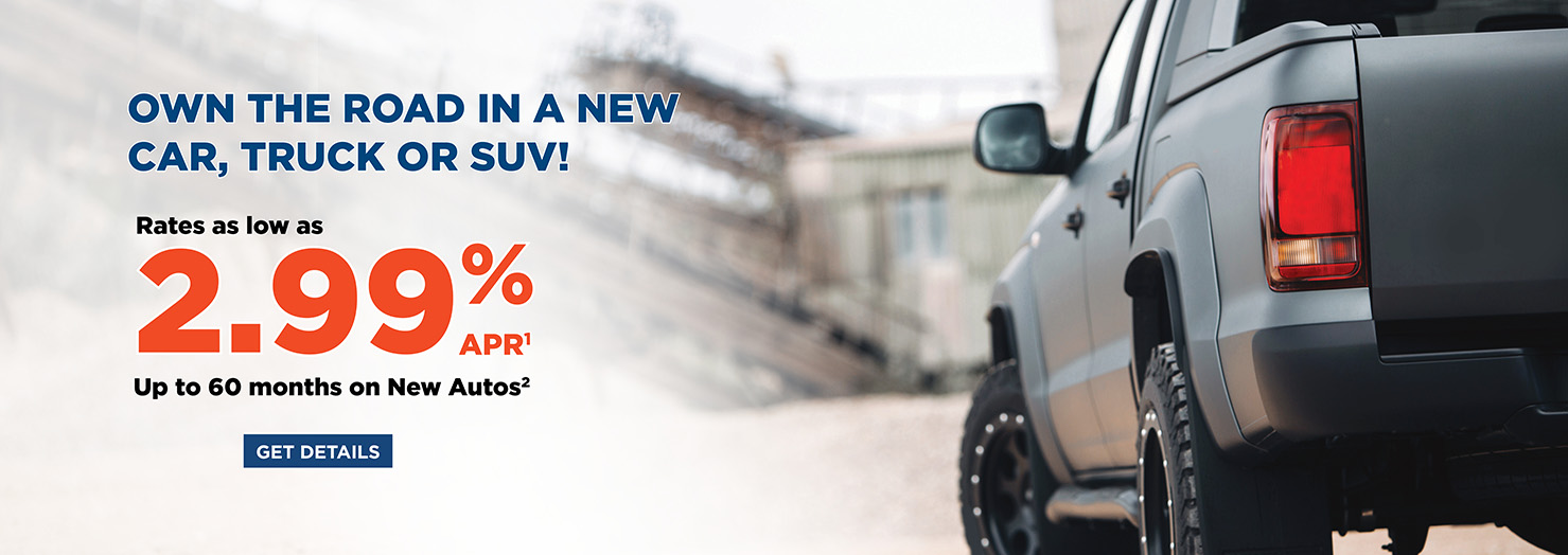 Own the Road in a New Car, Truck or SUV!