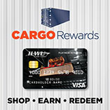 Platinum Rewards Visa with Cargo Rewards